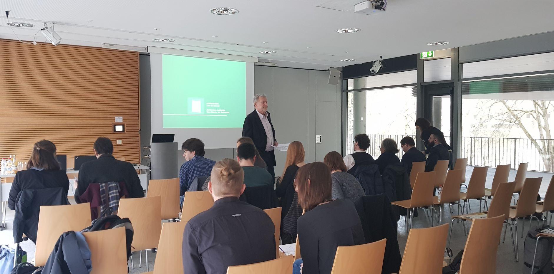 2. MonArch-Workshop an der Uni Passau