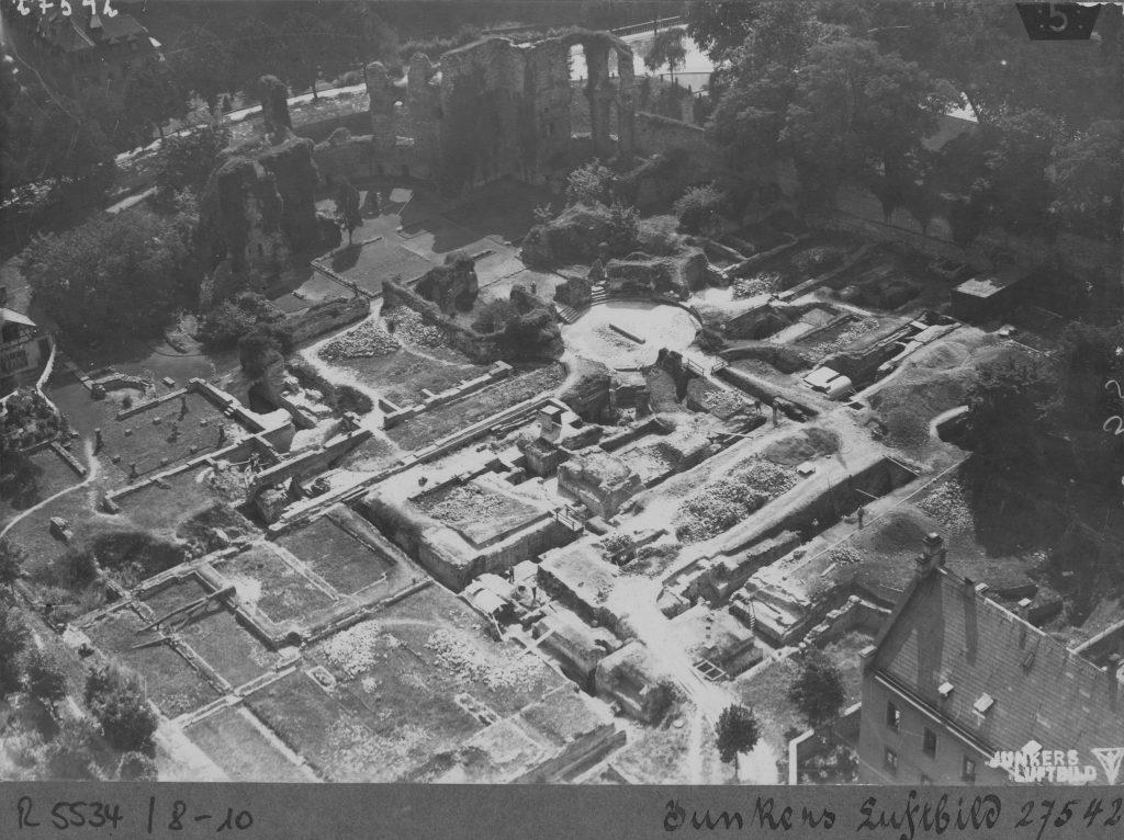 Große Restaurierungen (1928 - 1937), Junkers Luftbild